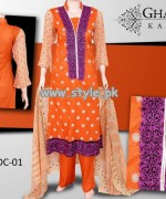 Ghani Textile Autumn Collection 2013 For Women 009