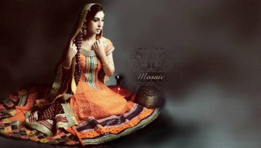Mosaic By Sundus Nawaz Bridal Wear Collection 2013 For Women 001