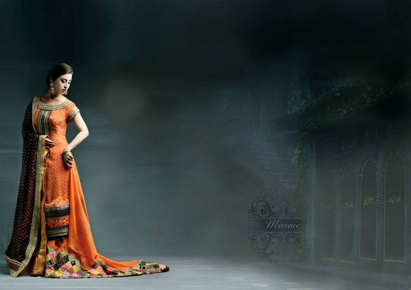 Mosaic By Sundus Nawaz Bridal Wear Collection 2013 For Women 002
