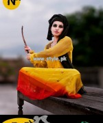 Nabeel and Najia Fall Collection 2013 For Girls 002