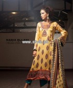Nadia Ellahi Digital Print Collection 2013 For Girls 001