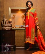 Naqash by Shaista Cloth Eid Collection 2013 For Girls 002