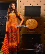 Naqash by Shaista Cloth Eid Collection 2013 For Girls 003
