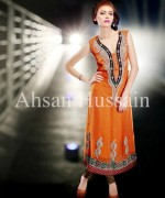 Ahsan Hussain Formal Dresses 2013 For Women 007