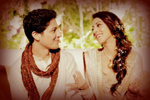 Ainy Jaffery,s Engagement Pic