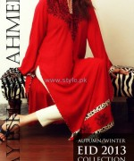 Ayesha Ahmed Autumn Winter Collection 2013 For Girls3