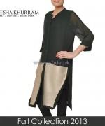 Ayesha Khurram Fall Dress Designs 2013 For Girls1