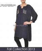 Ayesha Khurram Fall Dress Designs 2013 For Girls2
