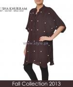 Ayesha Khurram Fall Dress Designs 2013 For Women4