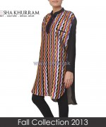 Ayesha Khurram Fall Dress Designs 2013 For Women5