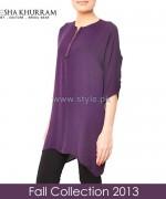 Ayesha Khurram Fall Dress Designs 2013 For Women6