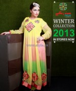 Barira Winter Collection 2013 For Girls1