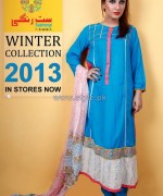 Barira Winter Collection 2013 For Girls3