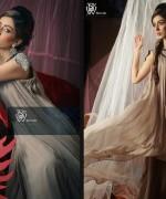 Black & White Couture Winter Dresses 2013 For Women 002