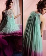Black & White Couture Winter Dresses 2013 For Women 003