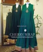 Cherry Wrap Eid ul Azha Dresses 2013 for Women 002