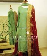Cherry Wrap Eid ul Azha Dresses 2013 for Women 007