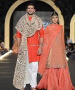Fahad Hussayn Dresses at PFDC L'Oreal Paris Bridal Week 2013 002