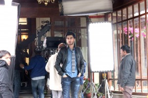 Imran Abbas On the Set Of Creature 11
