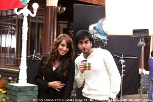 Imran Abbas On the Set Of Creature 14
