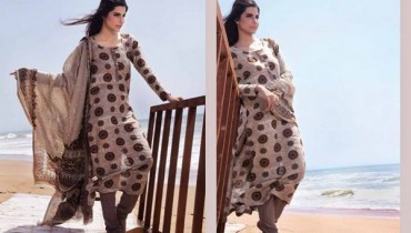 Ittehad Textiles Khaddar Dresses 2013 for Girls