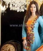 Kiran Komal Winter Dresses 2013 by Shabbir Textiles8