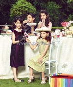 Leisure Club Party Wear Dresses 2013 For Kids5