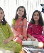 Maria B Latest Party Wear Collection 2013 For Kids1