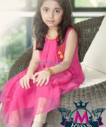 Maria B Latest Party Wear Collection 2013 For Kids2