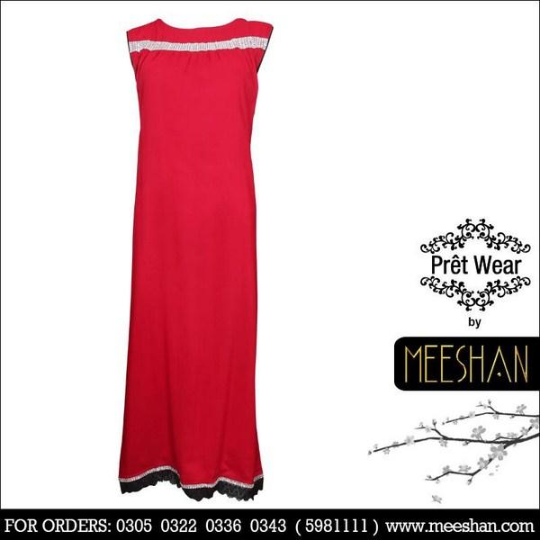 Meeshan Winter Dresses 2013 For Women 008