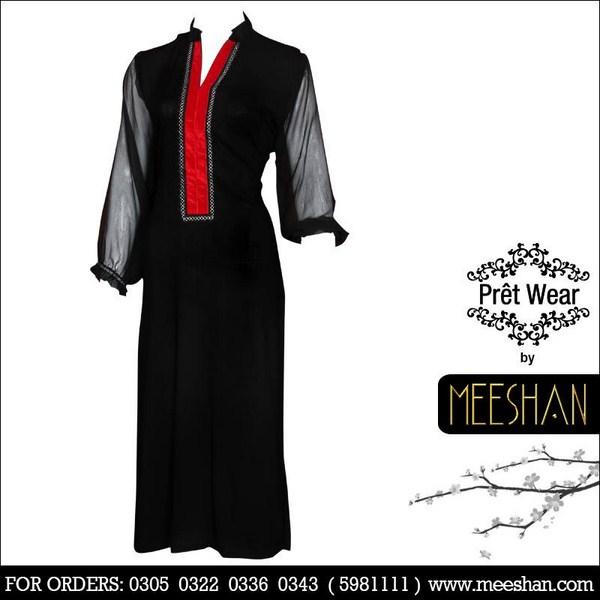 Meeshan Winter Dresses 2013 For Women 009