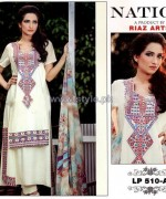 Nation by Riaz Arts Winter Designs 2013 For Girls4