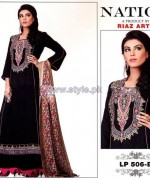 Nation by Riaz Arts Winter Designs 2013 For Women13