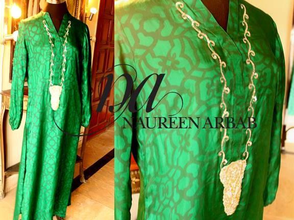 Naureen Arbab Winter Dresses 2013 For Women 001