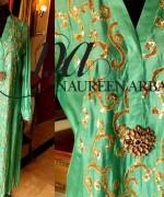 Naureen Arbab Winter Dresses 2013 For Women 003