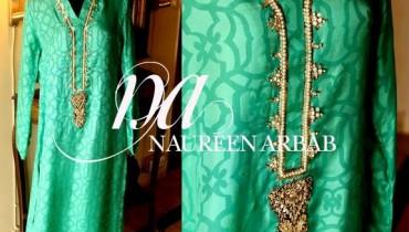 Naureen Arbab Winter Dresses 2013 For Women 008