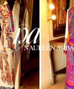 Naureen Arbab Winter Dresses 2013 For Women 009