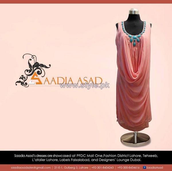 Saadia Asad Party Wear Dresses 2013 For Women8