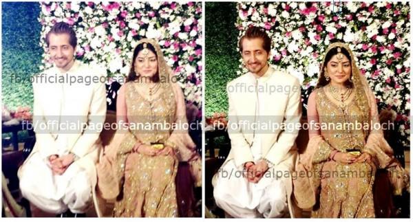 Sanam Baloch Walima pics 6 600x323 celebrity gossips