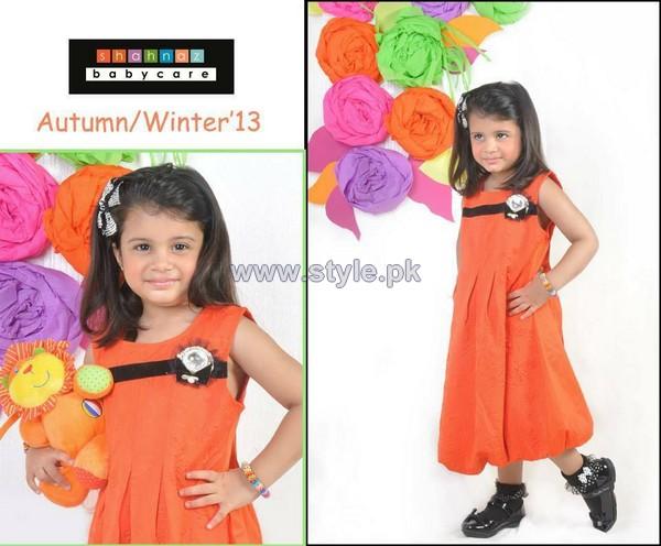 Shahnaz Autumn Winter Clothes 2013 For Kids11