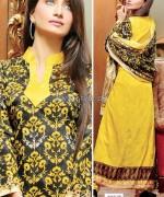 Shaista Cloths Winter Dresses 2013 For Women13