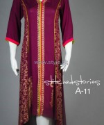 Stitched Stories Winter Dresses 2013 For Girls1