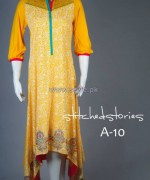 Stitched Stories Winter Dresses 2013 For Girls3