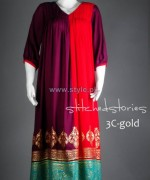 Stitched Stories Winter Dresses 2013 For Women8