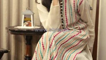 Tassels Winter Eid Dresses 2013 For Women6