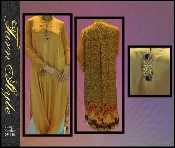 Turn Style Winter Dresses 2013 Volume 2 For Women 002