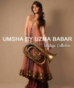 Umsha by Uzma Babar Heritage Collection 2013 For Girls1