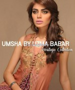 Umsha by Uzma Babar Heritage Collection 2013 For Girls2