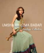 Umsha by Uzma Babar Heritage Collection 2013 For Girls3