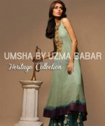 Umsha by Uzma Babar Heritage Collection 2013 For Girls5